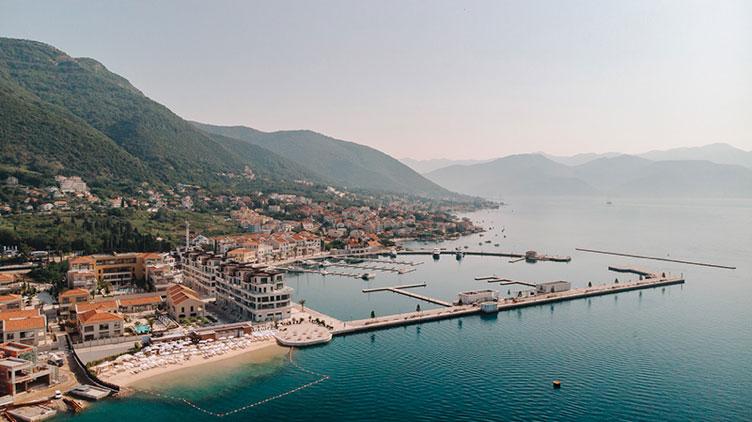 D-Marin Portonovi, new port and custom entry in Boka Bay