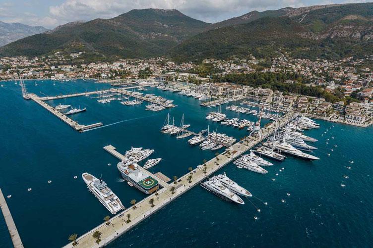 Important update regarding international yacht arrivals in Porto Montenegro